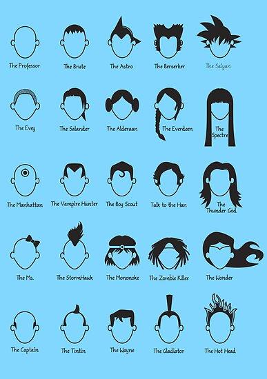 Hero Hair by Ben King
