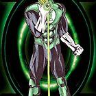 Green Lantern - Singer by NuttyRachy