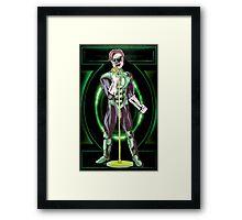 Green Lantern - Singer Framed Print