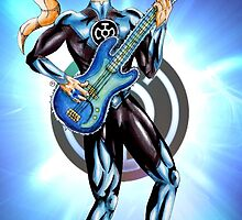 Blue Lantern - Bass Guitar by NuttyRachy