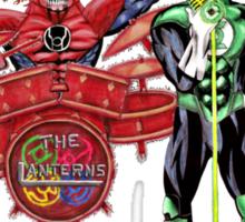 The Lanterns! Sticker