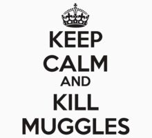 Keep Calm and Kill Muggles by rolypolynicoley