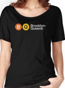 """3rd Bass """"Brooklyn Queens"""" Women's Relaxed Fit T-Shirt"""