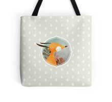 Portrait of fox Tote Bag