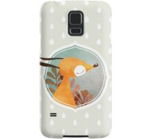 Portrait of fox Samsung Galaxy Case/Skin