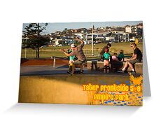 Tater Frontside 5-0 Shallow End Greeting Card