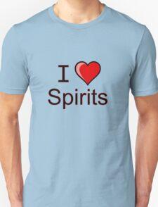 I love spirits Halloween  T-Shirt