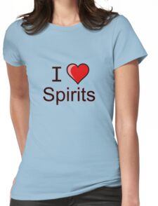 I love spirits Halloween  Womens Fitted T-Shirt