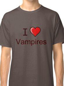 I love vampires  Classic T-Shirt