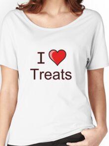 I love Halloween treats  Women's Relaxed Fit T-Shirt