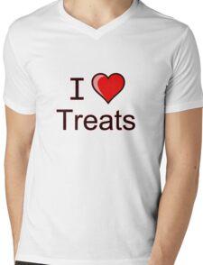 I love Halloween treats  Mens V-Neck T-Shirt