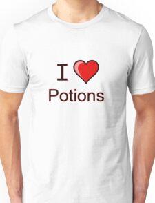 I love Halloween Magic potions  Unisex T-Shirt