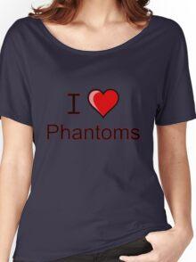 I love Halloween Phantoms  Women's Relaxed Fit T-Shirt