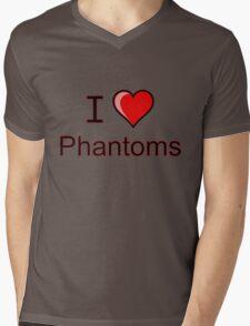 I love Halloween Phantoms  Mens V-Neck T-Shirt