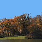 Autumn By The Lake by Linda Miller Gesualdo