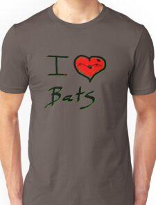 I love Halloween Bats  Unisex T-Shirt