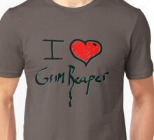 I love Halloween Grim reaper  Unisex T-Shirt