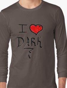 I love Halloween Dark  Long Sleeve T-Shirt