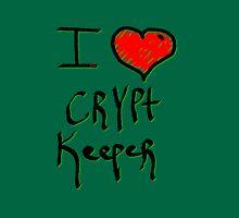 Crypt keeper I love Halloween  Unisex T-Shirt