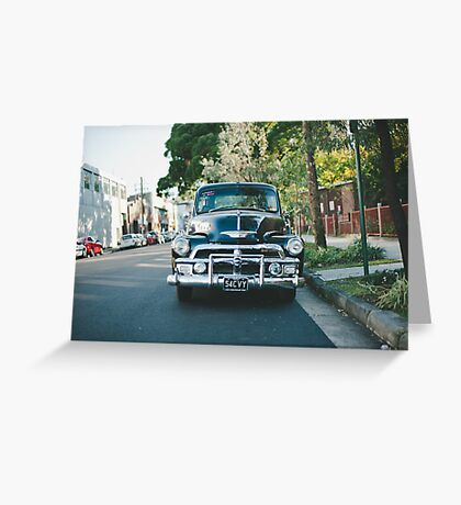 54 Chevy Greeting Card