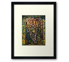 Madonna of the Flowers. Framed Print
