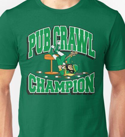 Irish Pub Crawl Champion Unisex T-Shirt