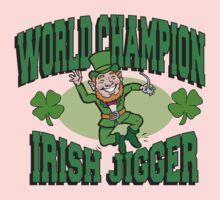 Irish Dancer Kids Tee