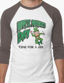St. Patrick's Day Men's Baseball ¾ T-Shirt