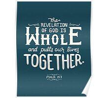 Revelation of God Poster