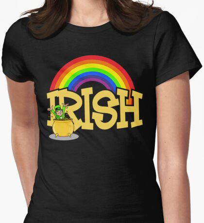 Irish Womens Fitted T-Shirt