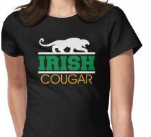Irish Cougar Womens Fitted T-Shirt