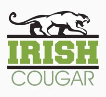 Irish Cougar Kids Tee