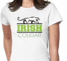 Irish Cougar Womens Fitted T-Shirt