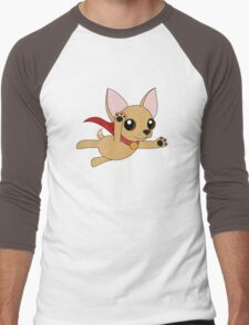 Super Chihuahua! Men's Baseball ¾ T-Shirt