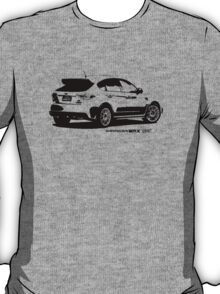 Subaru Impreza WRX STI 2008 Rear View T-Shirt