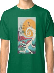 Surf Before Cristmas Classic T-Shirt