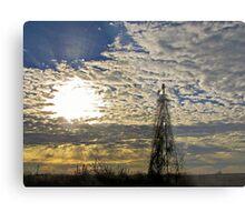 Morning Rays Metal Print