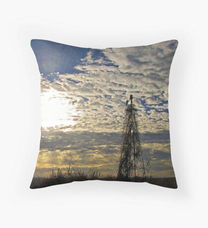 Morning Rays Throw Pillow