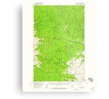 USGS Topo Map Washington State WA Loup Loup 242079 1956 62500 Metal Print