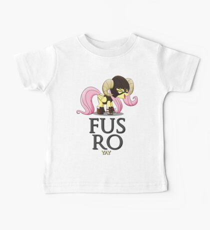 FUS RO yay (My Little Pony: Friendship is Magic) Baby Tee