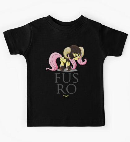 FUS RO yay (My Little Pony: Friendship is Magic) Kids Tee