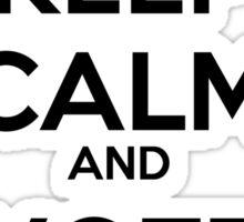Keep Calm and Vote Obama Sticker