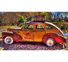 Tijuana Taxi Photographic Print