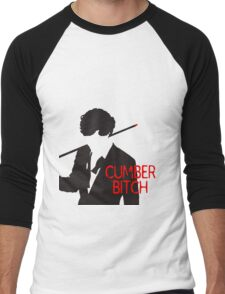 Cumberbitch Men's Baseball ¾ T-Shirt