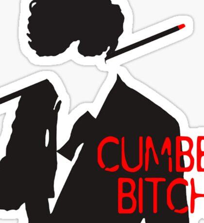 Cumberbitch Sticker