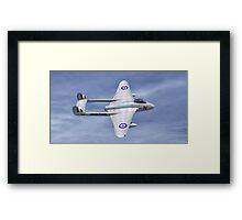 De Havilland  Vampire Framed Print