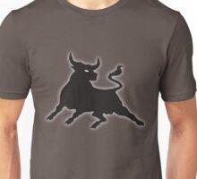 Black Power Bull Unisex T-Shirt