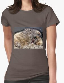 Wild nature - whistler Womens Fitted T-Shirt