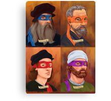 The Renaissance Ninja Artists Canvas Print