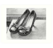 Favorite Shoes Art Print